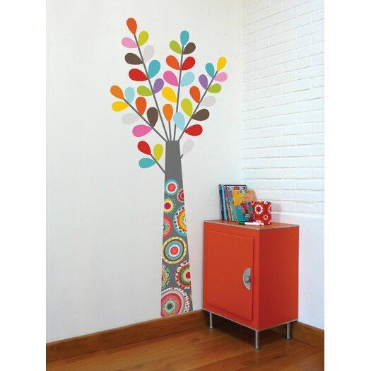 ADZif Ludo Tree Wall Decal