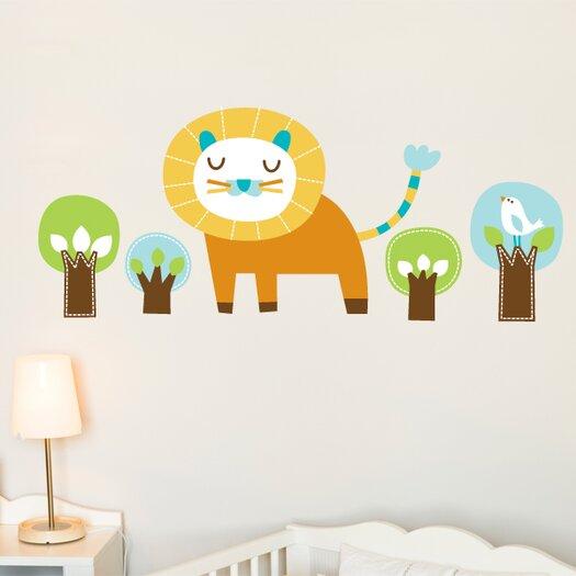 ADZif Piccolo Edgar the Lion Wall Decal