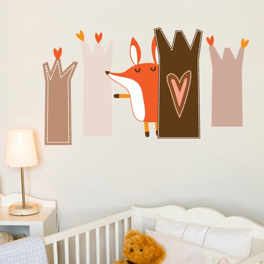 ADZif Piccolo Paolo Plays Hide and Seek Wall Decal