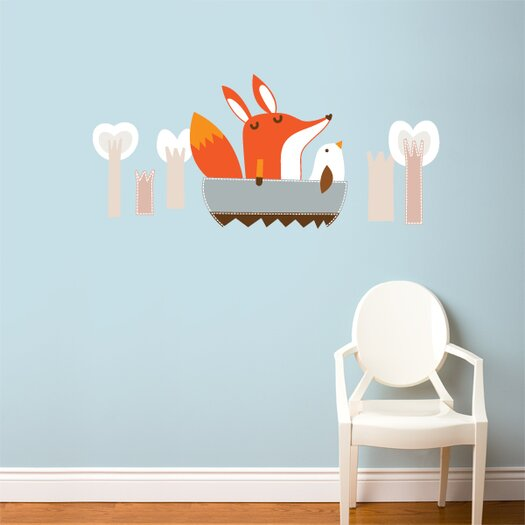 ADZif Piccolo Paolo Goes Boating Wall Decal