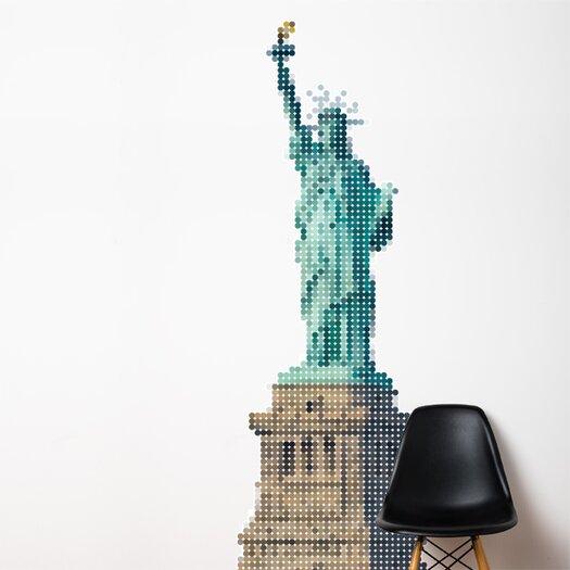 XXL Lady Liberty Wall Mural