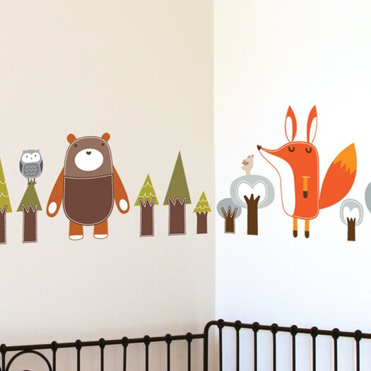 ADZif Piccolo Forest Friends Wall Decal
