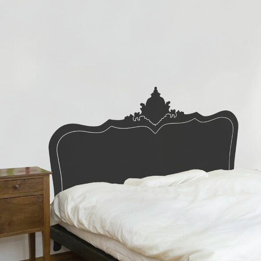 Adzif cama baroque headboard wall mural allmodern for Mural headboard