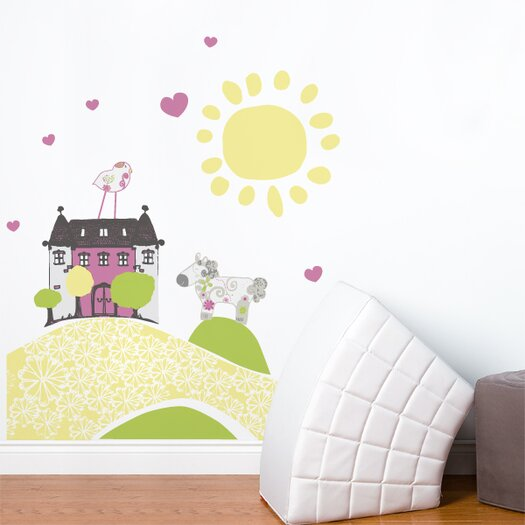 ADZif Piccolo My Little Mansion Wall Decal