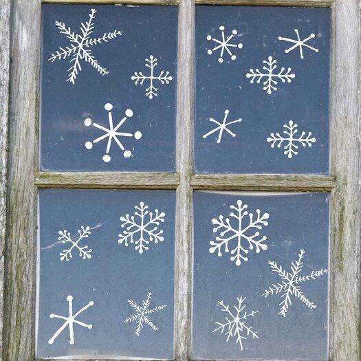 Christmas 2013 Snowflake Window Sticker
