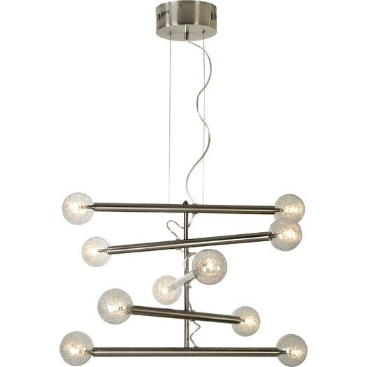 Trend Lighting Corp. Mira 10 Light Chandelier