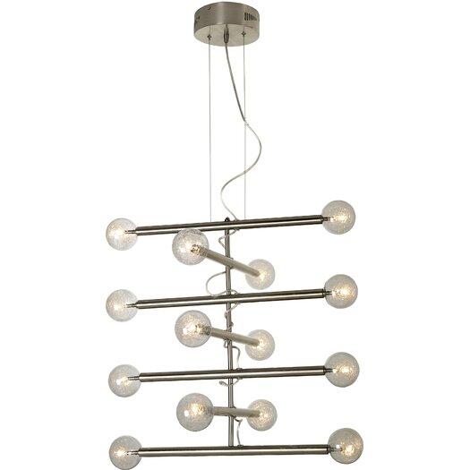 Trend Lighting Corp. Mira 14 Light Chandelier