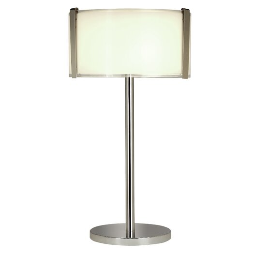 """Trend Lighting Corp. Apollo 26.25"""" H Table Lamp with Rectangular Shade"""