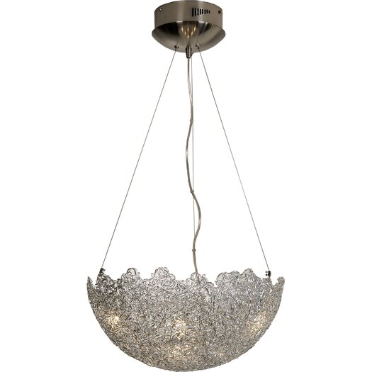 Trend Lighting Corp. Moonstruck 6 Light Bowl Pendant