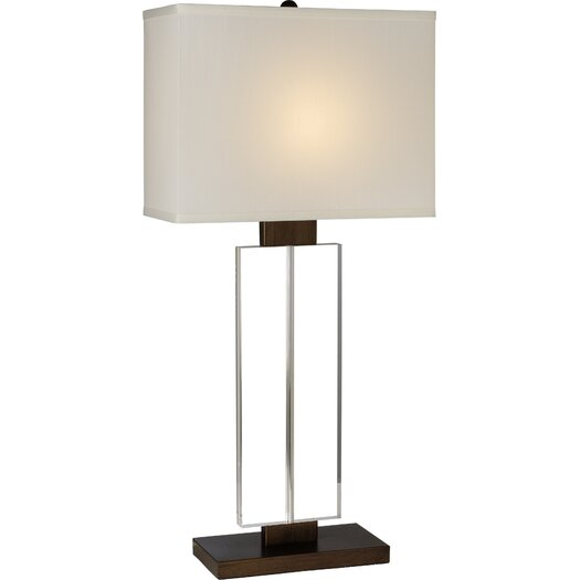 """Trend Lighting Corp. Shine 29"""" H Table Lamp with Rectangular Shade"""