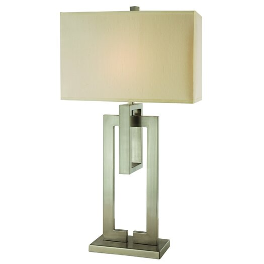 "Trend Lighting Corp. Precision 36.5"" H Table Lamp with Rectangular Shade"