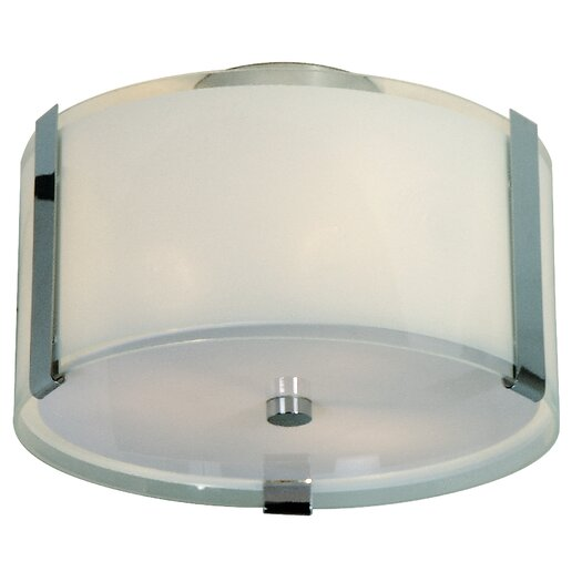 Trend Lighting Corp. Apollo 2 Light Semi Flush Mount