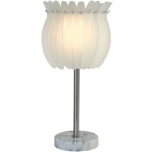 """Trend Lighting Corp. Aphrodite 24"""" H Table Lamp with Bowl Shade"""