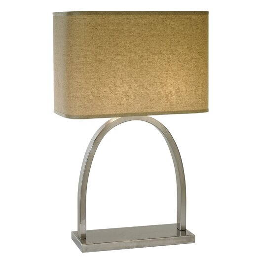 """Trend Lighting Corp. Dusk 26.5"""" H Table Lamp with Rectangular Shade"""