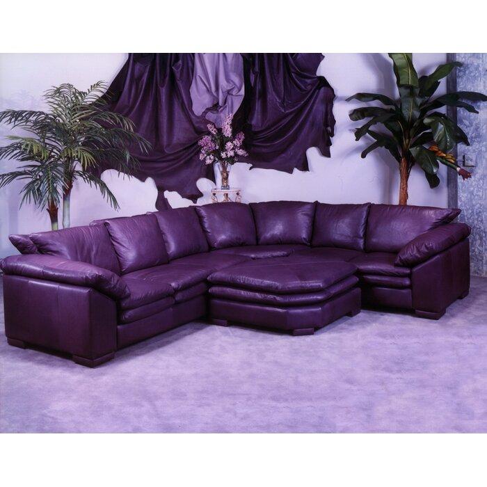 Omnia Leather Fargo Sectional