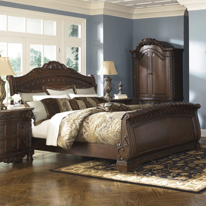 Signature Design By Ashley North Shore Sleigh Customizable Bedroom Set Reviews Wayfair