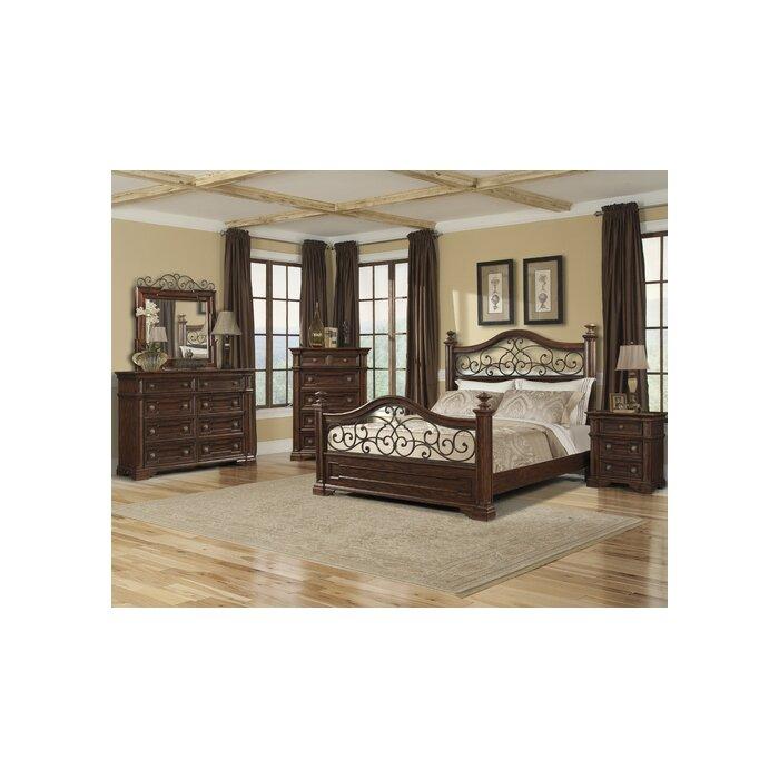 Ashley Furniture San Marcos Ca: Harris Panel Customizable Bedroom Set