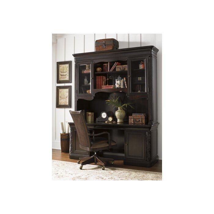 Sligh Halton House Winchcombe Executive Desk with Storage Deck