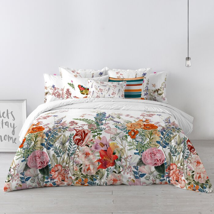 Happy Friday Botanical Duvet Set