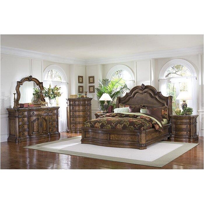 Pulaski San Mateo Panel Customizable Bedroom Set Amp Reviews Wayfair