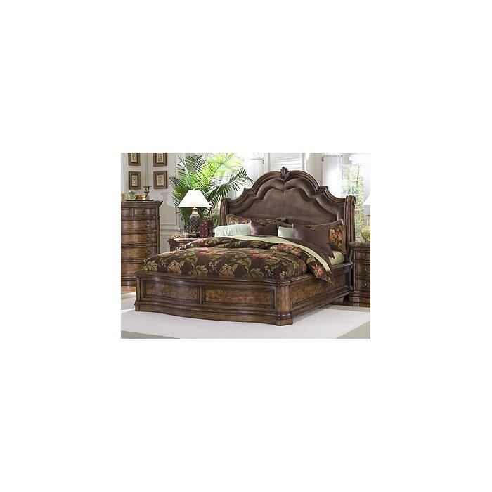 pulaski furniture san mateo panel customizable bedroom set