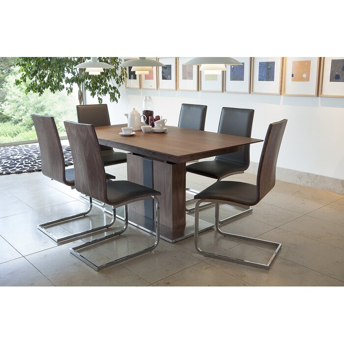 Homestead Living Rion Extendable Dining Table and 6 Chairs