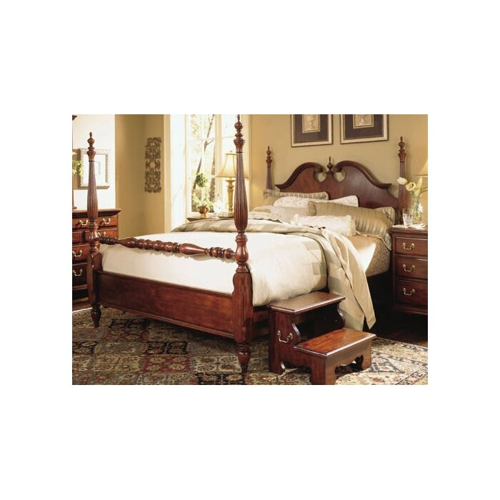 Cherry grove four poster customizable bedroom set wayfair for American drew bedroom furniture reviews