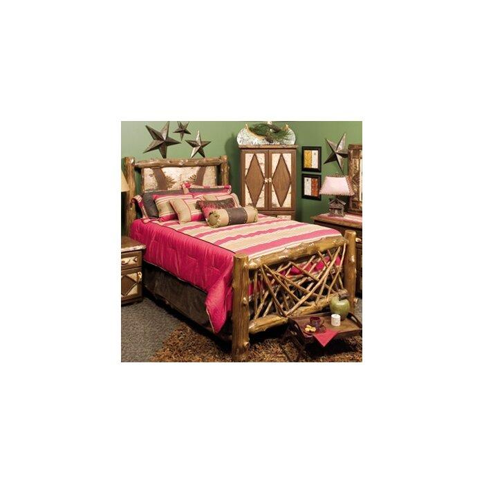 Fireside Lodge Adirondack Panel Bed Wayfair