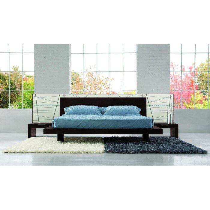 YumanMod Harris Platform Customizable Bedroom Set