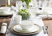Four Ways To Style White Dinnerware