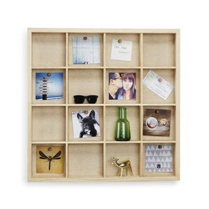 Wall-Mount Cubby Display Case