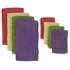 8-Piece Multicolor Dishtowel Set