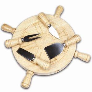 Ship Wheel Cheese Tray