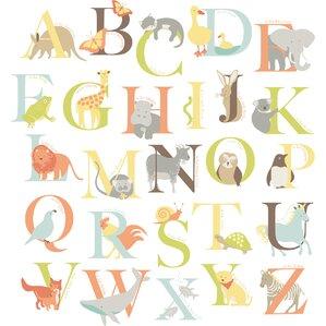 Alphabet Zoo Wall Decal