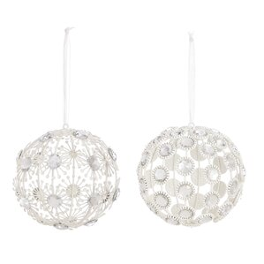 Jeweled Ball Ornament