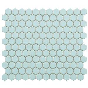 """Lucy 0.875"""" x 0.875"""" Porcelain Tile"""