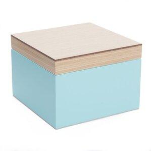 Mallory Jewelry Box in Aqua