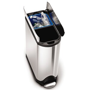 Stainless Steel Trash Can & Recycling Bin