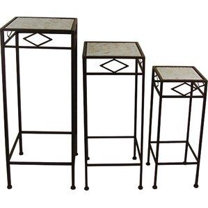 3-Piece Neville Patio Plant Stand Set (Set of 3)