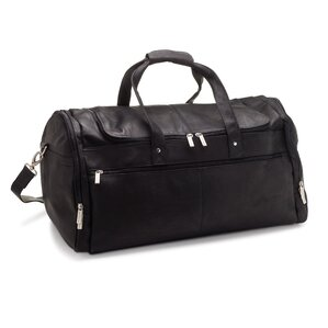 Voyager Leather Duffel Bag