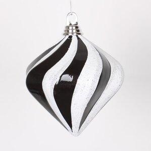 Candy Glitter Swirl Ornament