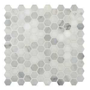 Marble Hexagon Mosaic Tile