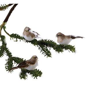 Snow Bird Ornament (Set of 6)
