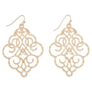 Napoli Earrings in Gold