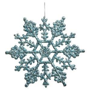 Glitter Snowflake Ornament (Set of 24)