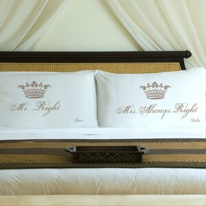 Personalized Married Pillowcase (Set of 2)