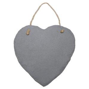 Slate Heart Ornament