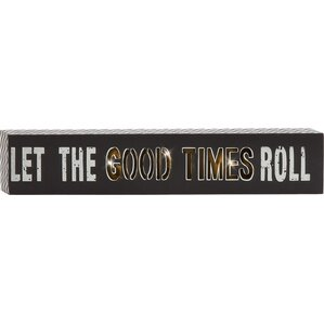 Let the Good Times Roll Marquee Light