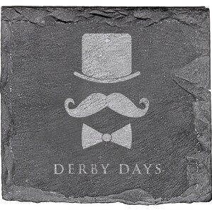Derby Days Slate Coaster (Set of 4)