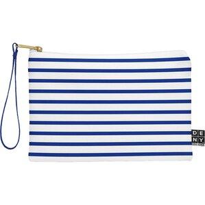 Nautical Stripe Wristlet